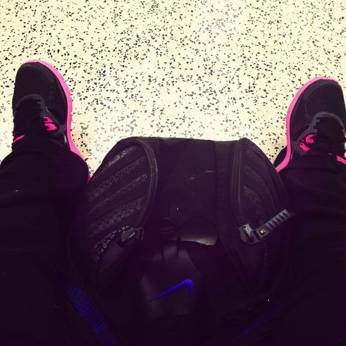 Waiting For Class #nike