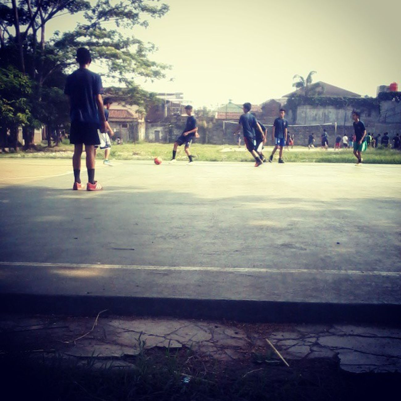 Tadi olahraga Lapangan Smk Pi 52 indonesia school