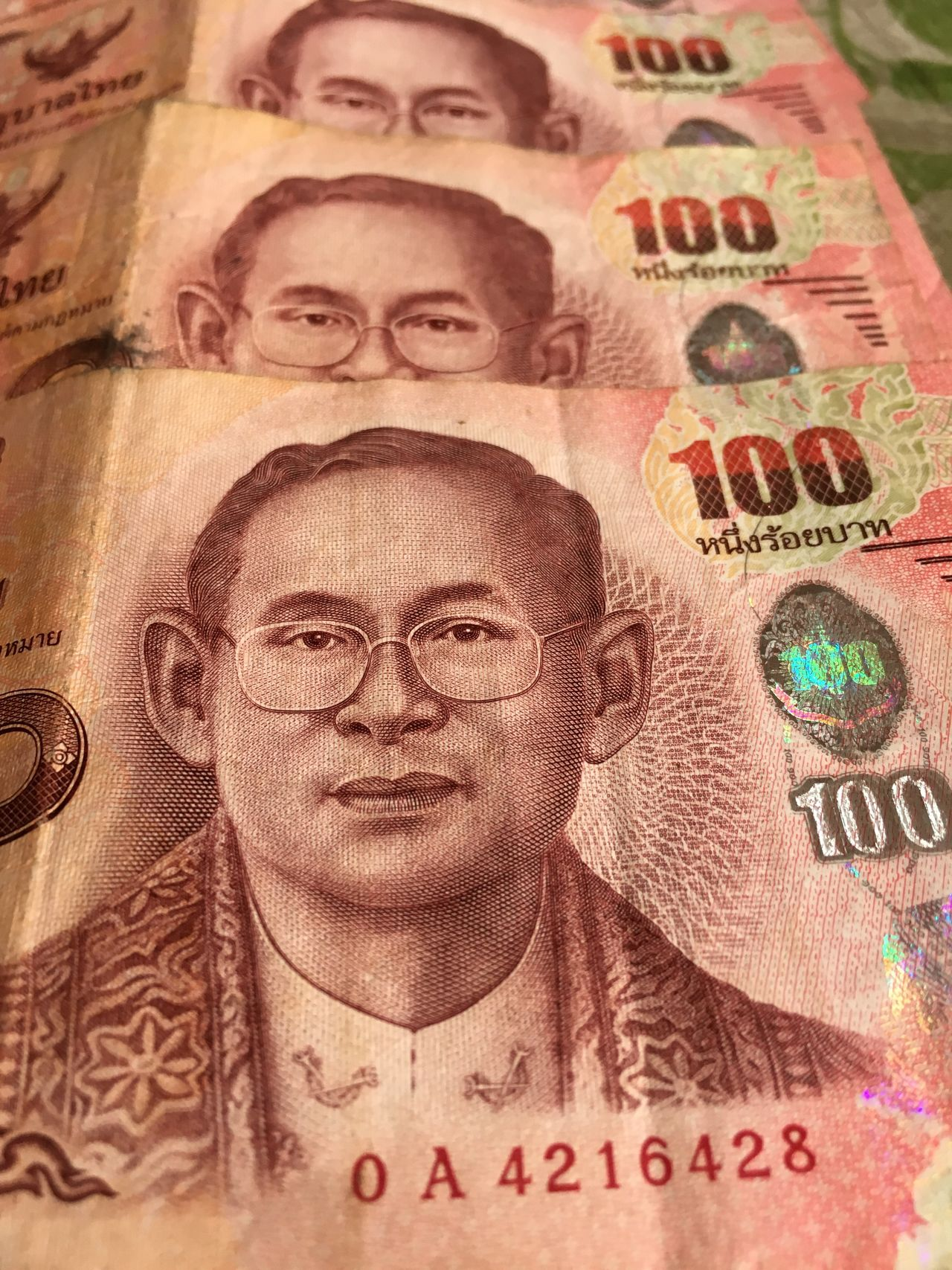 Think man on a banknote King Banks Banknote King Of Thailand