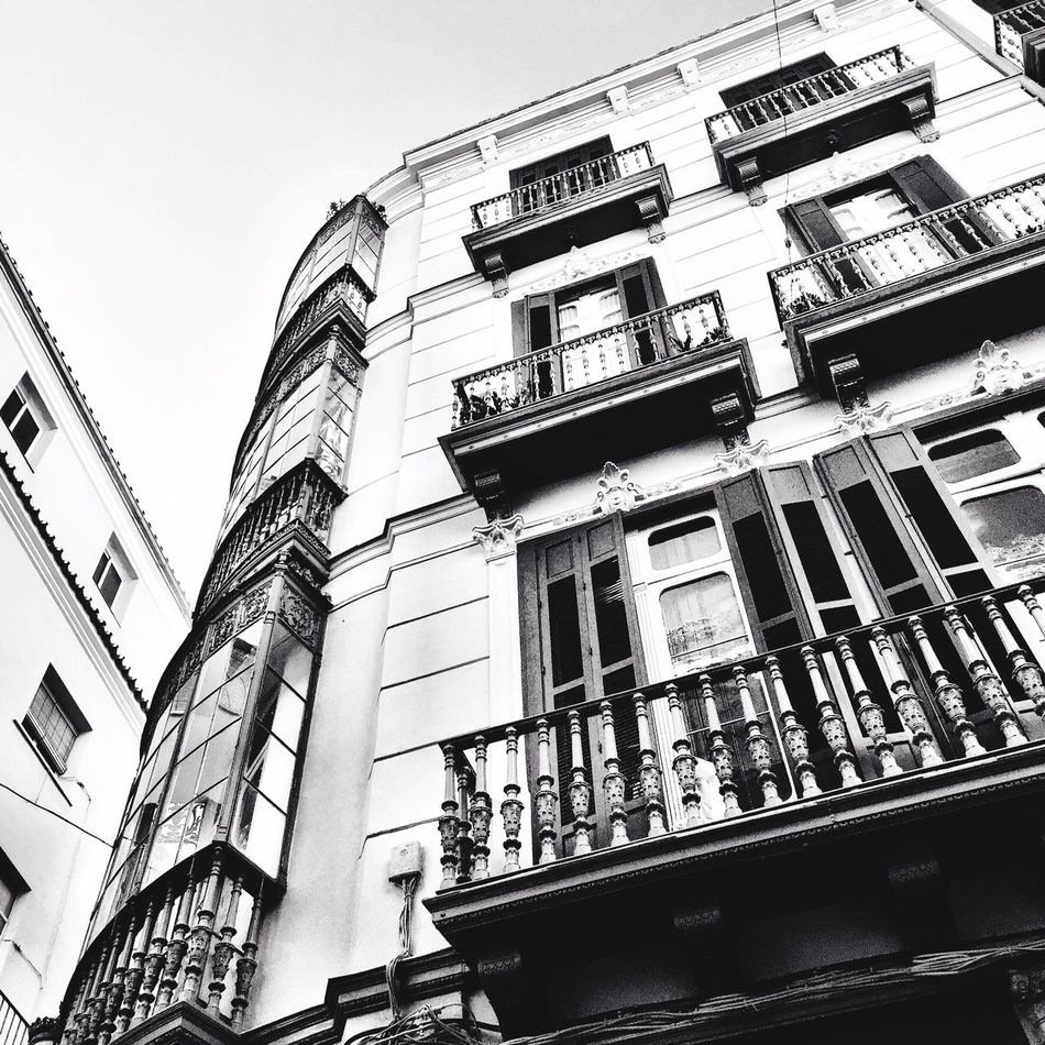 Construcción Malaga Bw_collection Streetphoto_bw Blackandwhite Arquitecture Black And White Monochrome Urban