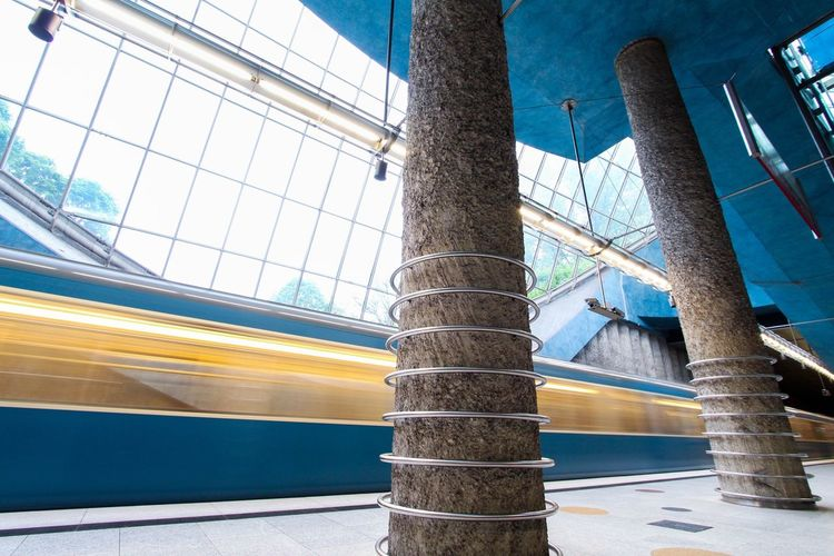Public Transportation Streetphotography Getting Inspired City Architecture Notes From The Underground Urban Geometry Light And Shadow Eye4photography  Check This Out