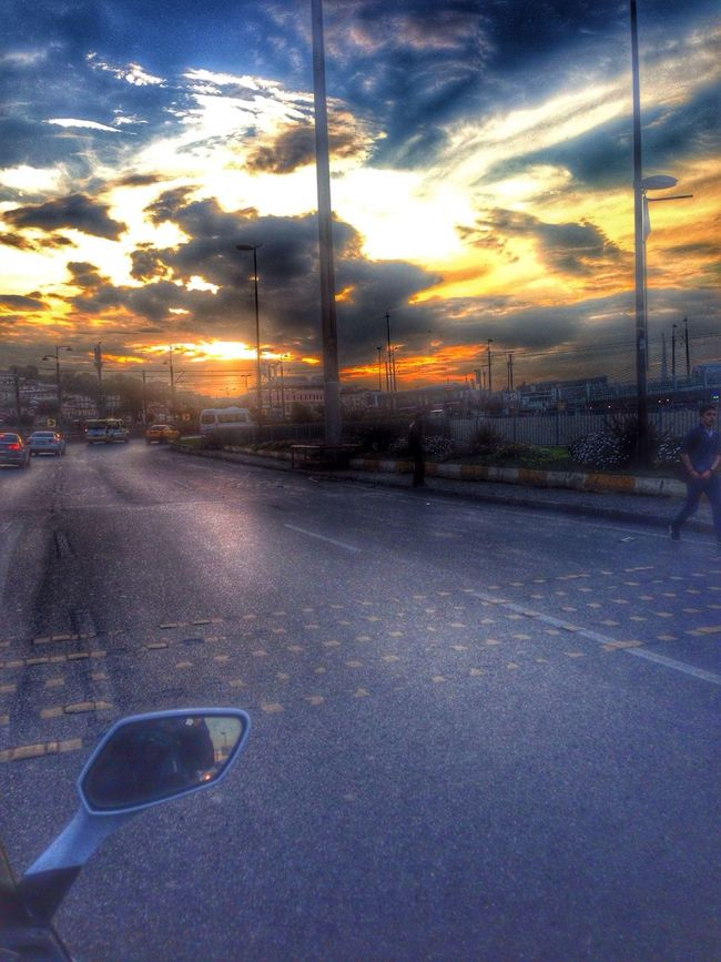 Motorcycle Hello World Clouds And Sky First Eyeem Photo