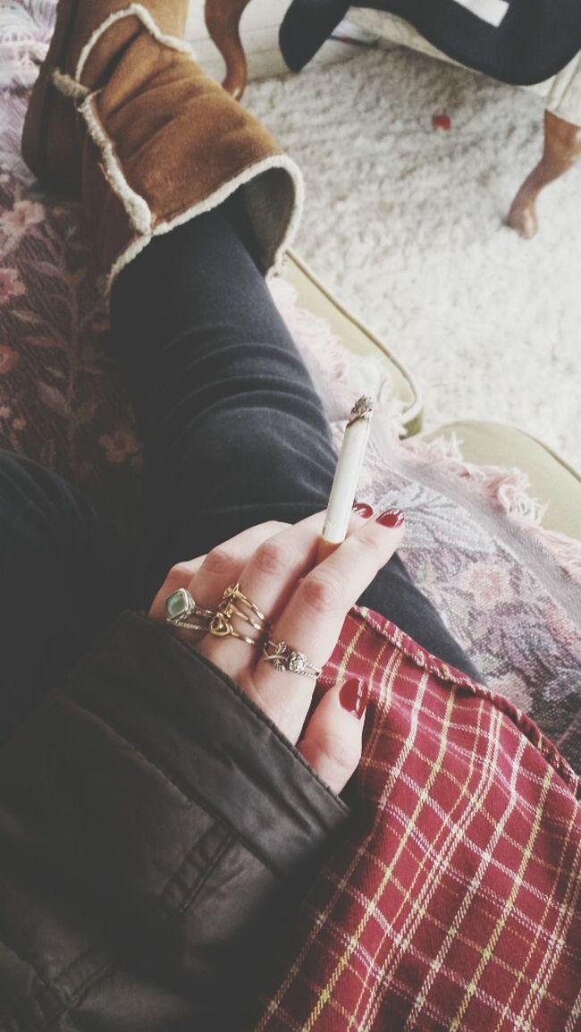 Marb Reds Red Nails Minnesnowta Flannel
