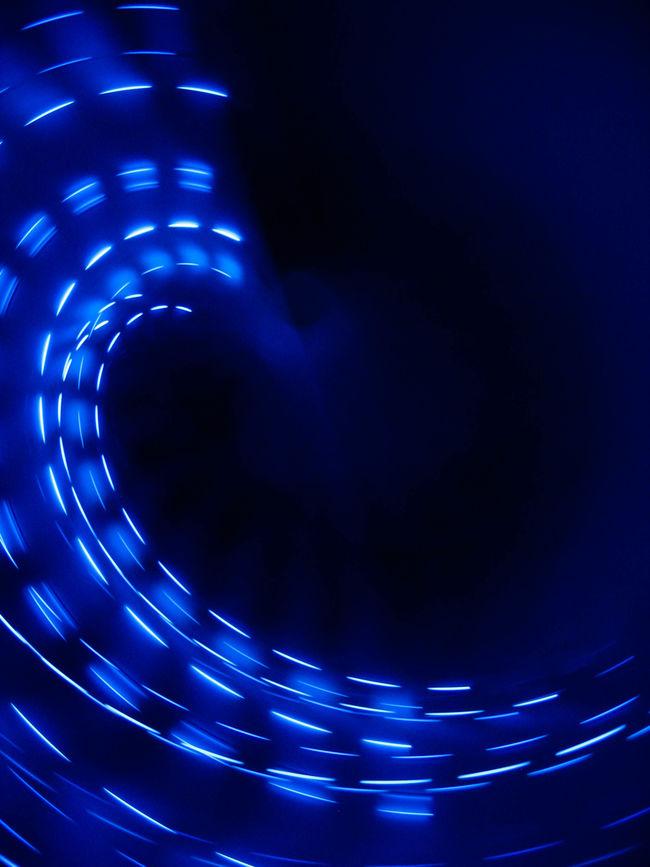 Camera toss Abstract Blue Camera Toss Lights Long Exposure All The Neon Lights