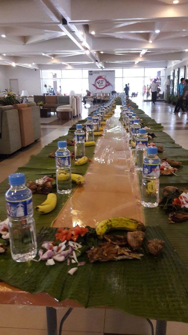 ShareTheMeal BoodleFight Dapcc Tagaytay Philippines... Food Longtable