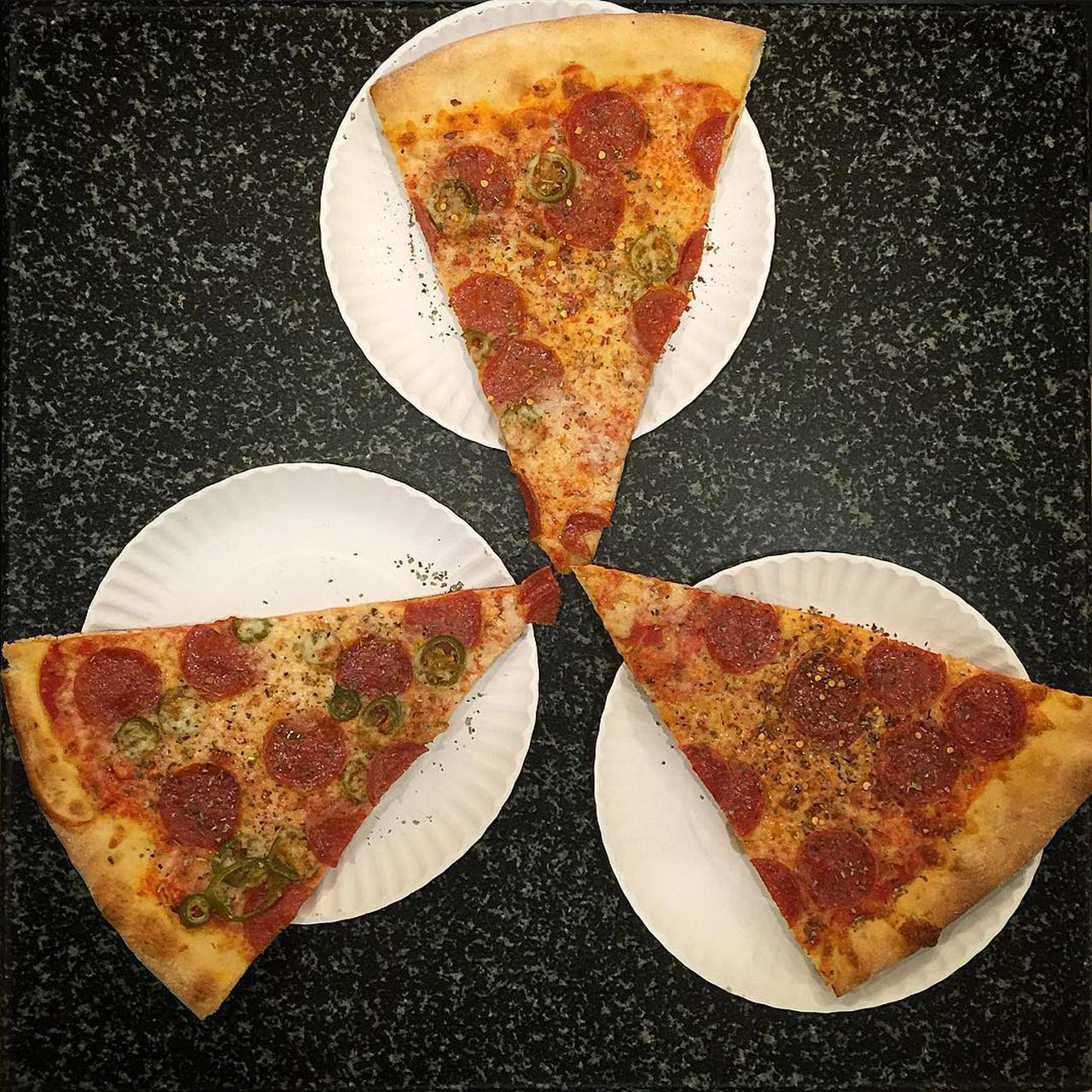 Breakfast Close-up Constructivism Day Food Freshness Indulgence Meal No People NYC Junk Food Ironman Pizza Pizzalove Ready-to-eat Served Serving Size SLICE SLICE Snack Still Life Temptation Triangular Theory Of Love