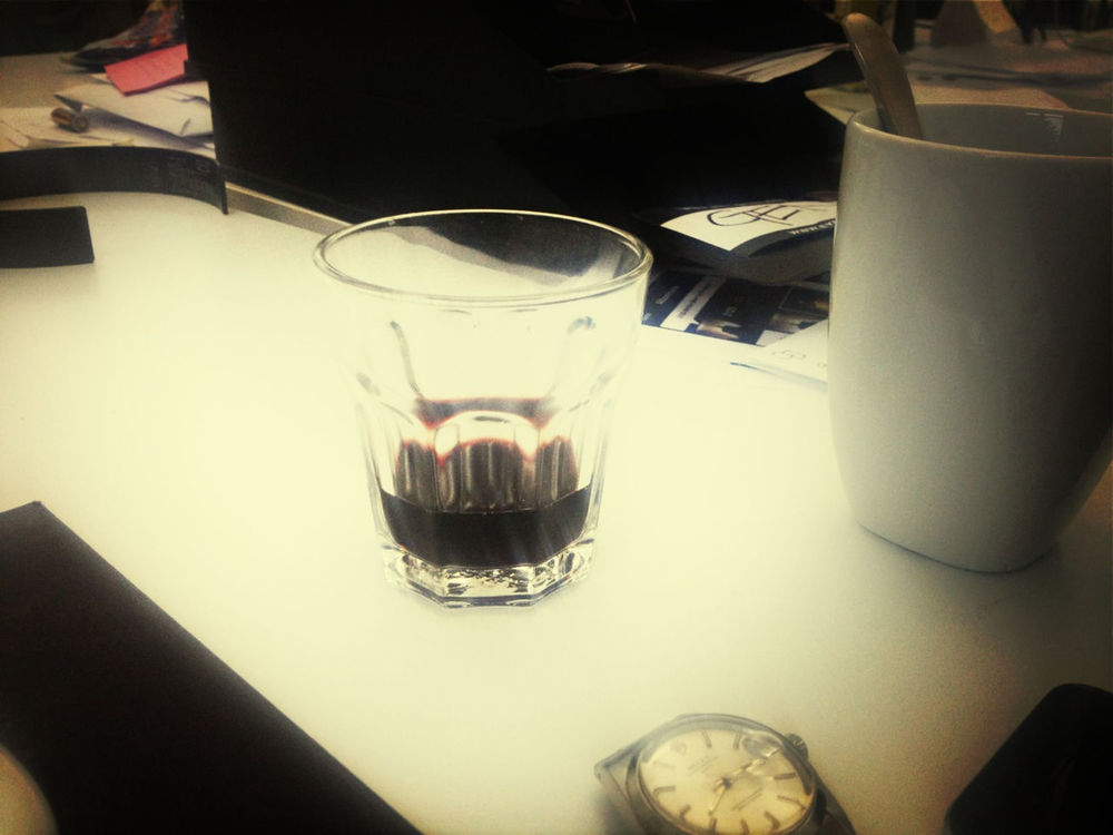 drinking wine at EyeEm HQ by Gen Sadakane