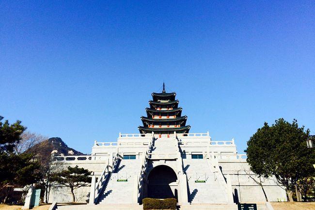 Korean Architecture Traditional Architecture Palace Gyeongbokgung Palace, Seoul Lotti On Tour