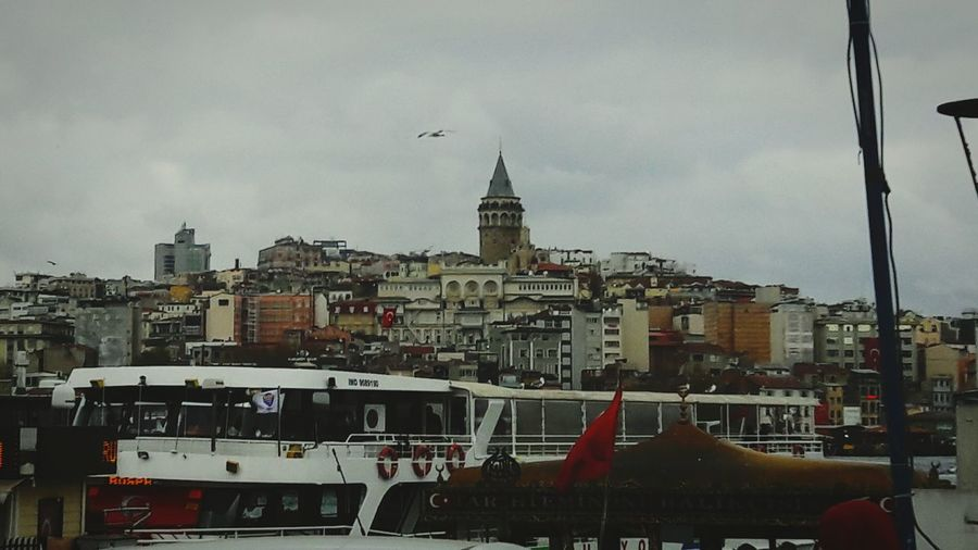 Galatakulesi Istanbul City No People Day