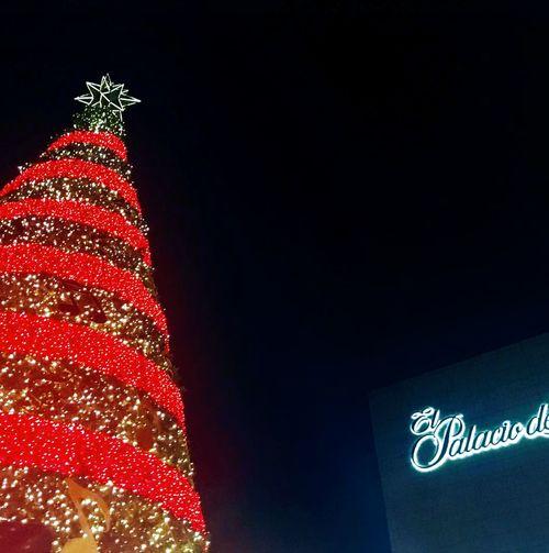 Oficialmente ya es Navidad... EncendidoDeLuces Arbol. Navidad PalacioDeLosPalacios