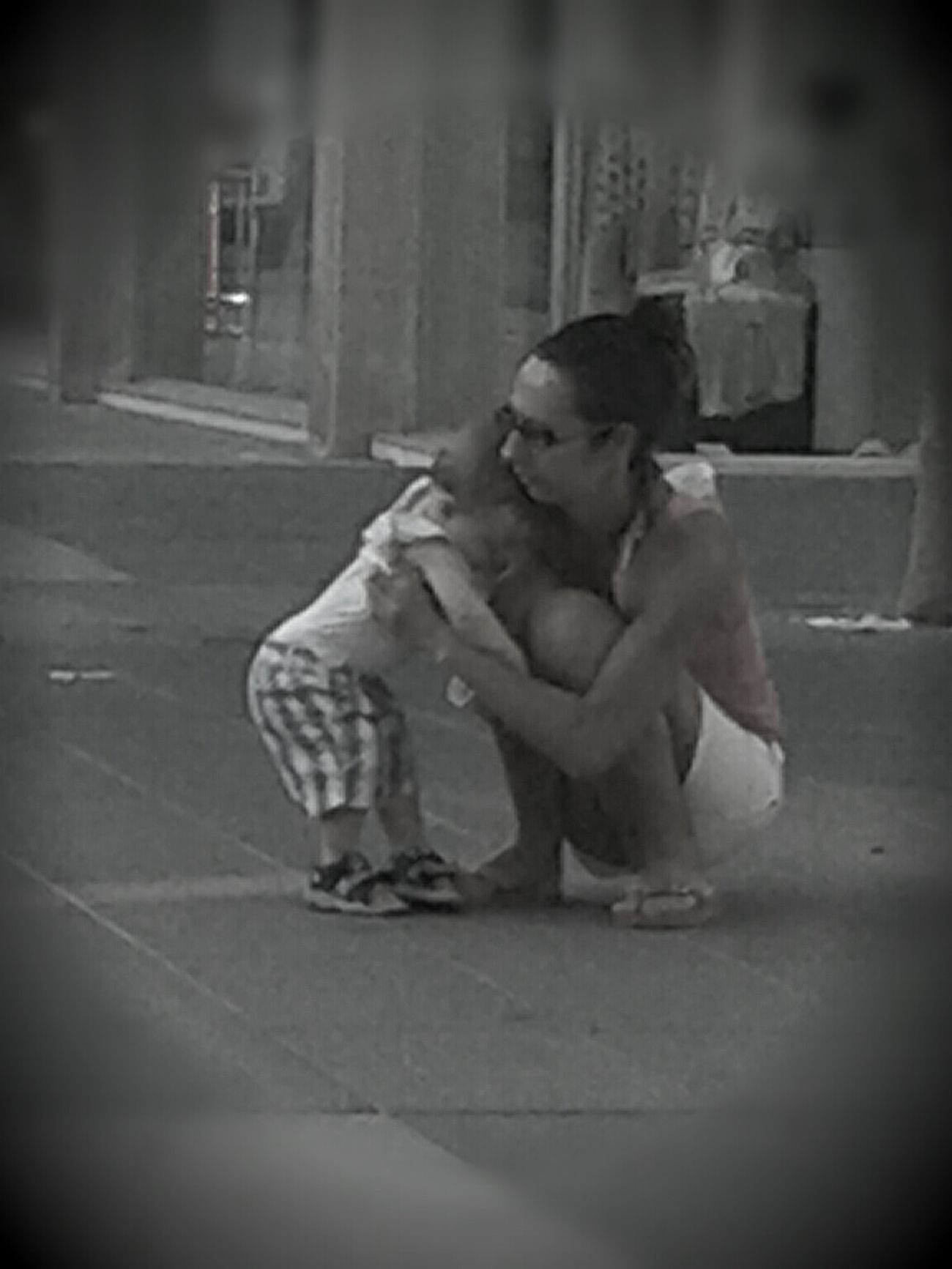 Street Photography Love Black And White