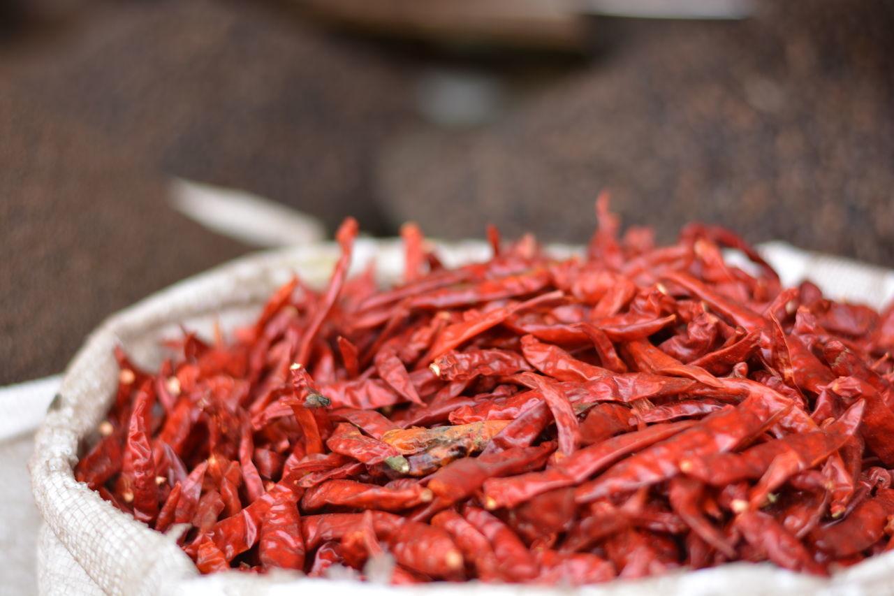 Chandni Chowk Chandnichowk Spice Market Spicy India India Spice Red Chilli Red Chillies Red Chili Pepper