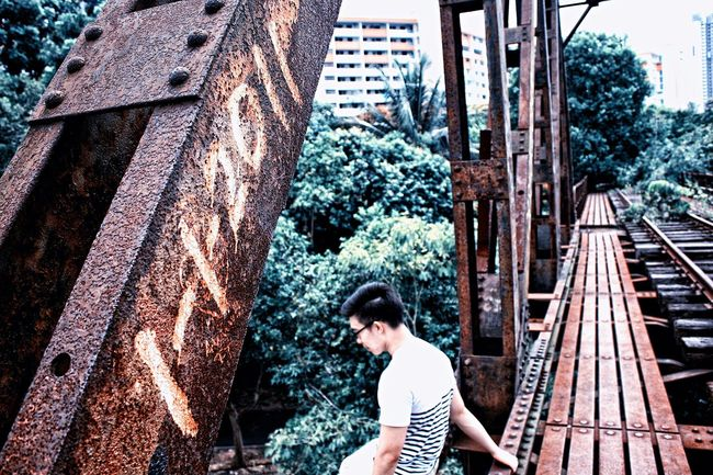 Conquering my fear of heights. Adventure Heights ExploringSingapore Rust