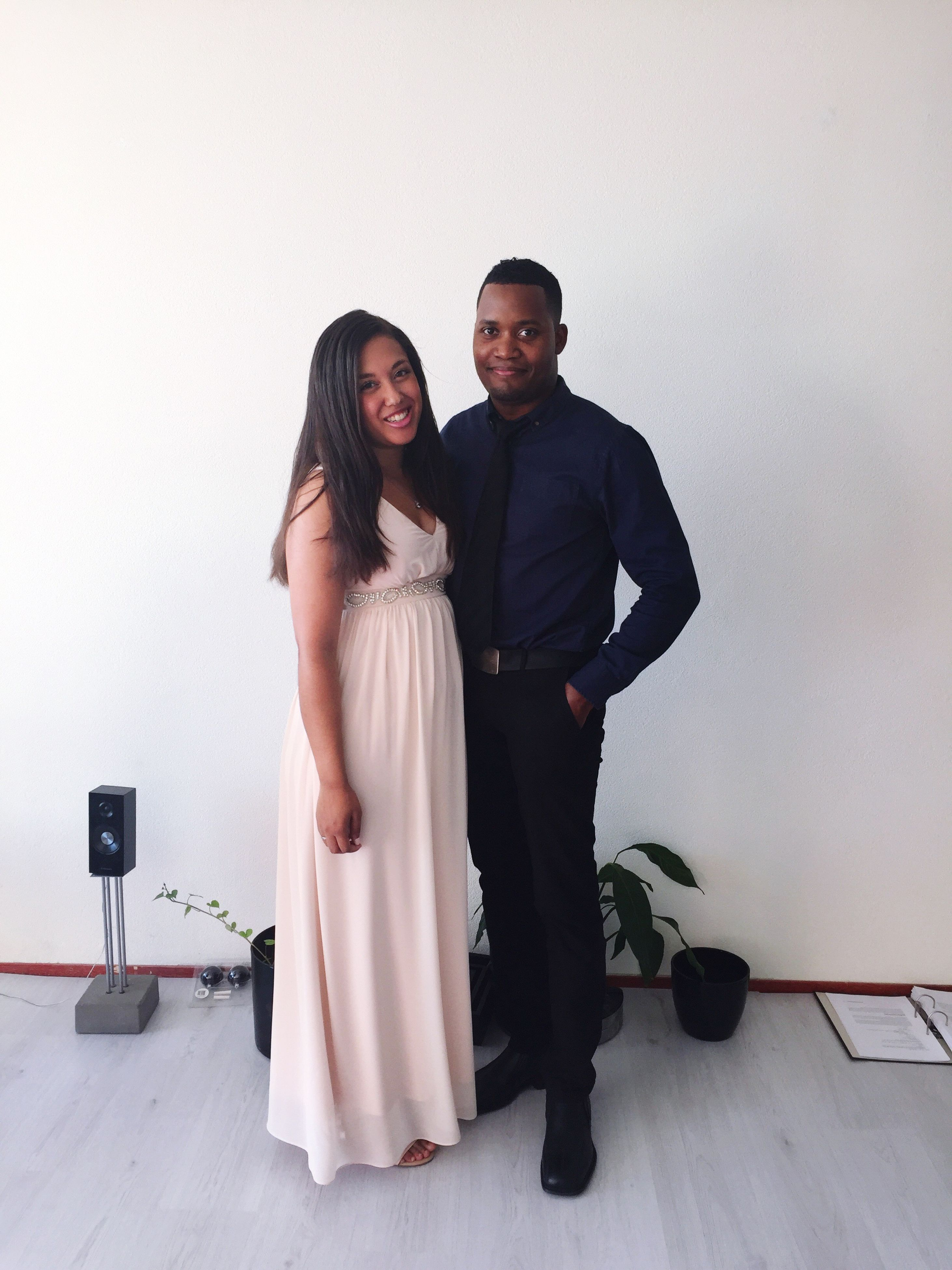 young adult, full length, standing, togetherness, front view, white background, leisure activity, lifestyles, person, young women, studio shot, fashion, portrait, casual clothing, well-dressed, love, couple - relationship, looking at camera, camera - photographic equipment, holding, full suit, friendship, in front of, long hair