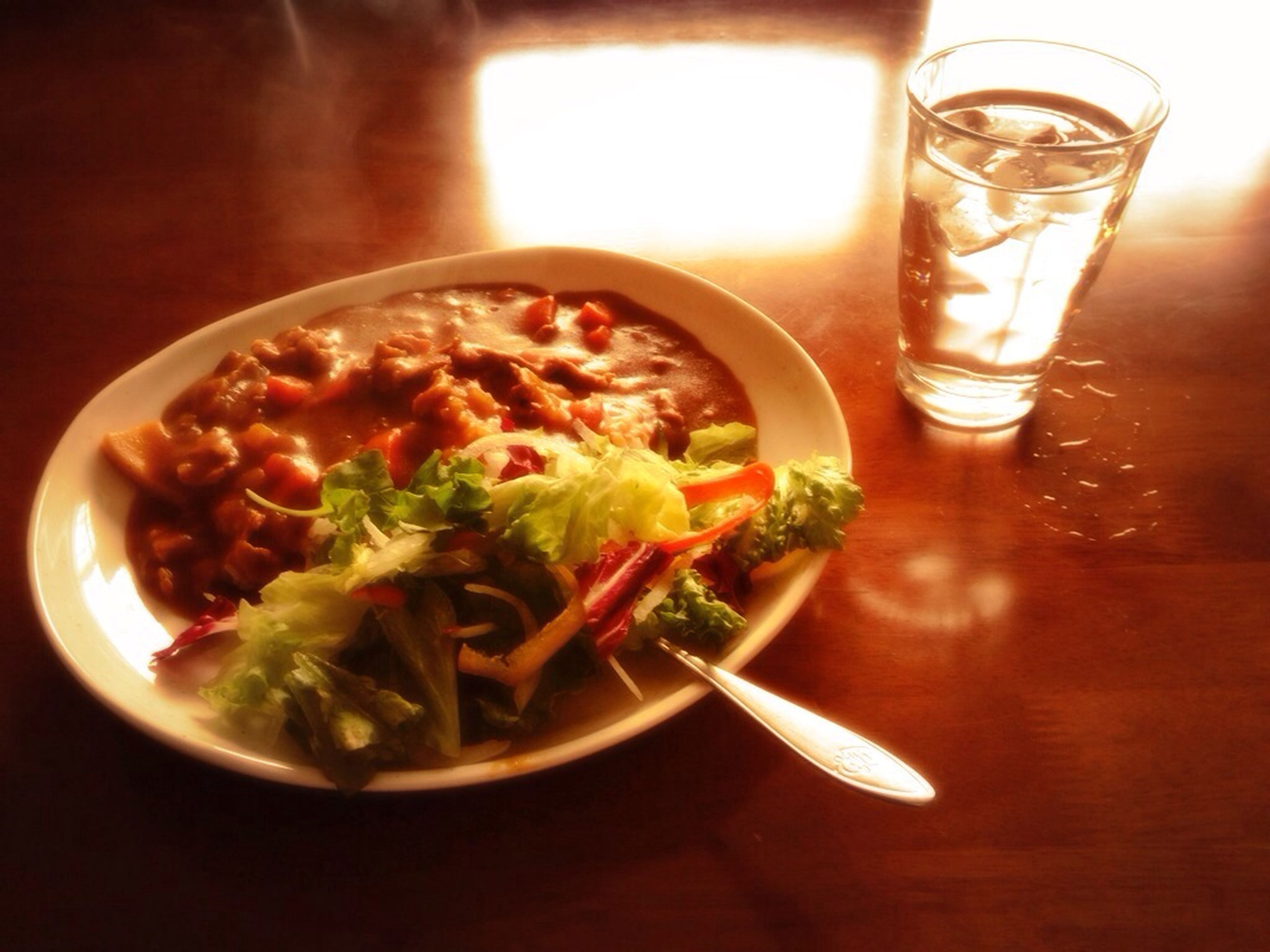 food and drink, indoors, table, freshness, food, still life, healthy eating, plate, ready-to-eat, drink, bowl, drinking glass, serving size, meal, close-up, served, refreshment, high angle view, spoon, soup