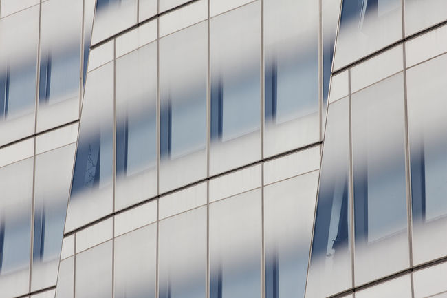 Architectural Feature Architecture Designed By Frank Gehry Glass Building New York City Modern Repetition The IAC Building Your Design Story