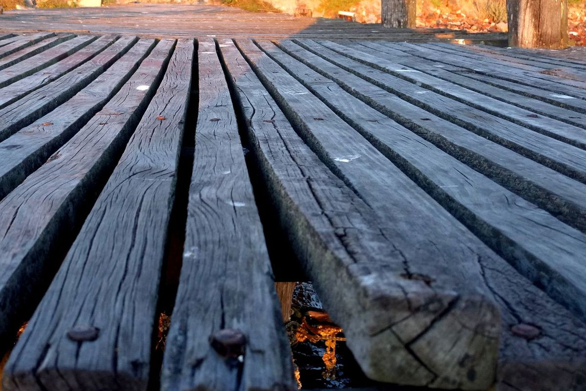 Harbour Broken Close-up Day Jetty Nature No People Ocean Old Wood Outdoors Timber Deck Water Wood - Material
