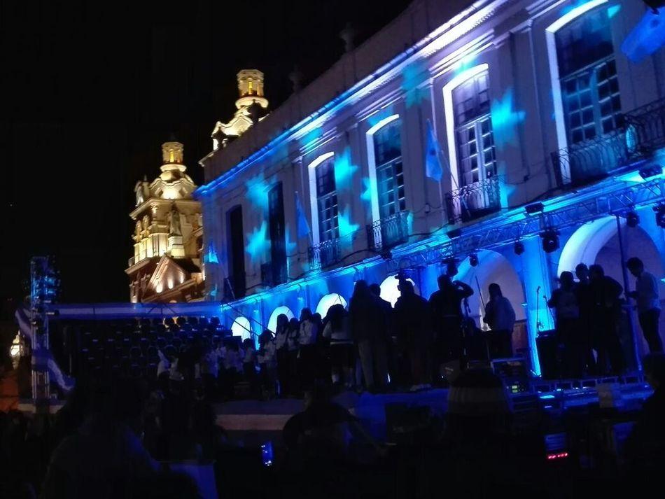 Cordobaargentina Fiestaspatrias Luces 25DeMayo Cabildo Plazasanmartin
