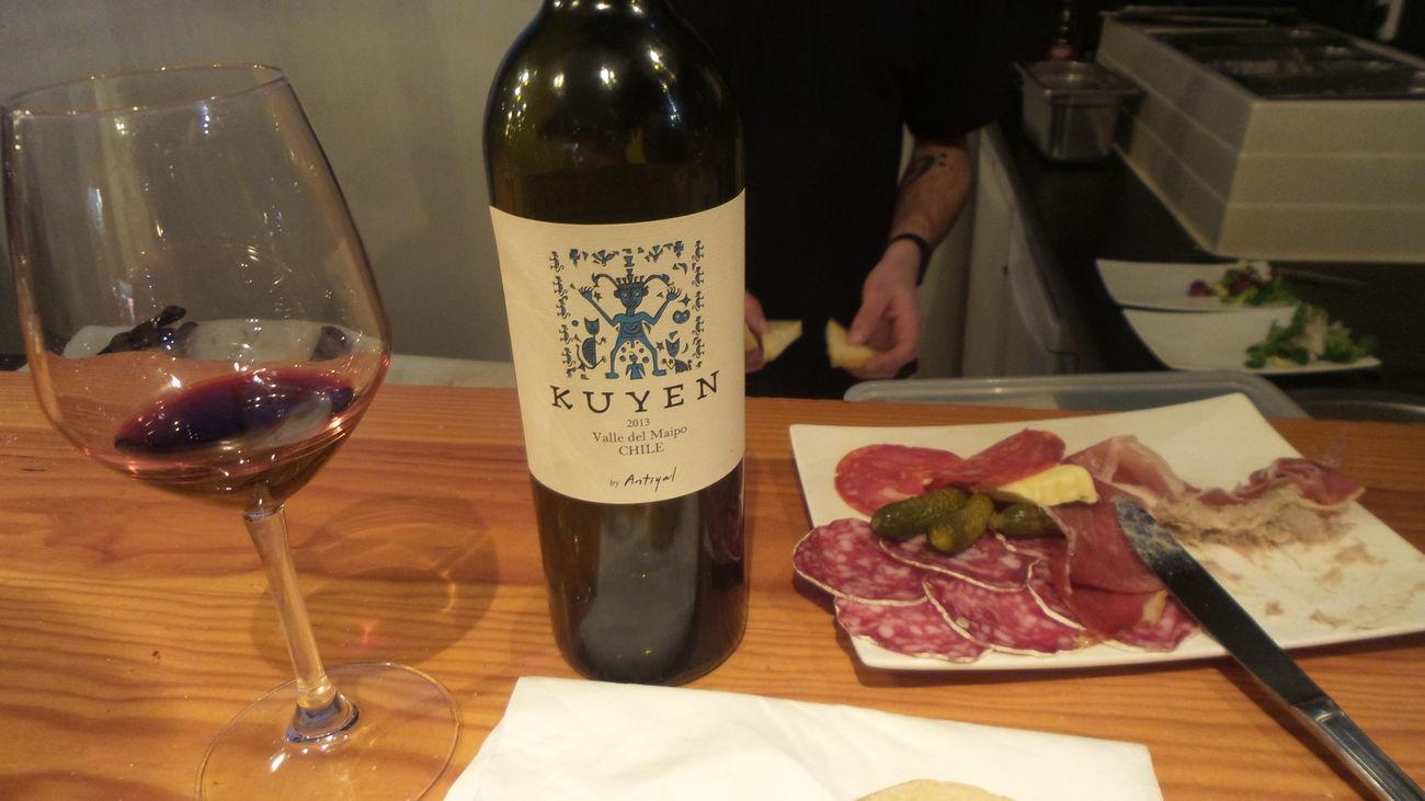 Il y a de très bons vins chiliens !!!