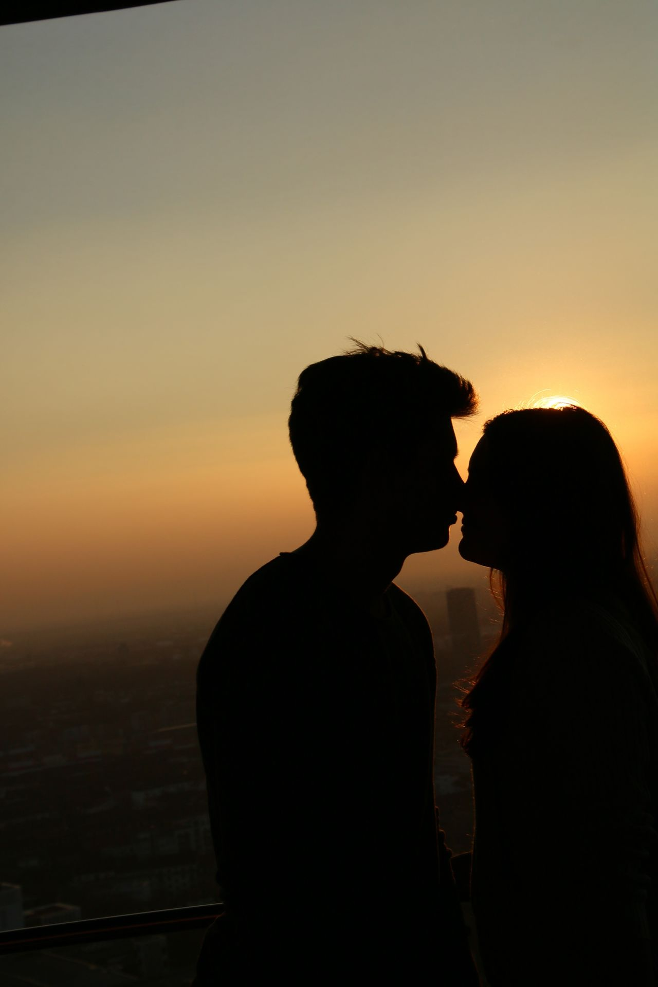 Two People Sunset Silhouette Love Togetherness Couple - Relationship Heterosexual Couple Romance Sky Adult Men Adults Only People Couple Young Adult Only Men Outdoors Day Romantic AMPt_LOVE AMPt - LOVE Mannheim Sunlight Friendship Flirting