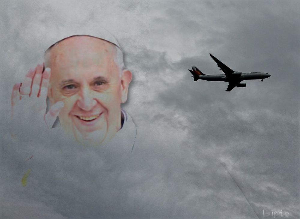 Thank you pope francis PopeFrancisPh Eyeem Philippines Eyembestedit EyeemPhilippines Taking Pictures