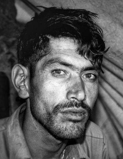 B&W Portrait Black And White Portrait Skardu Pakistan