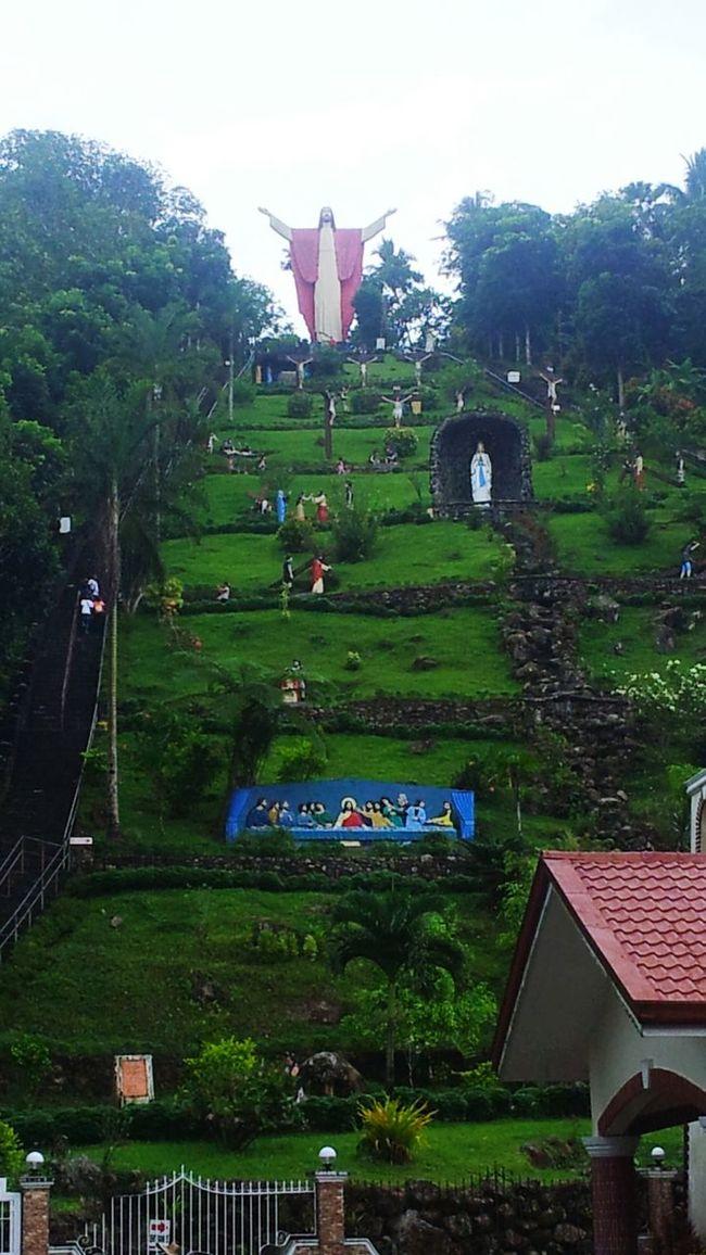 Kamay ni Hesus in Lucban,Quezon Praying Prayinghands Enjoying Life Travelling