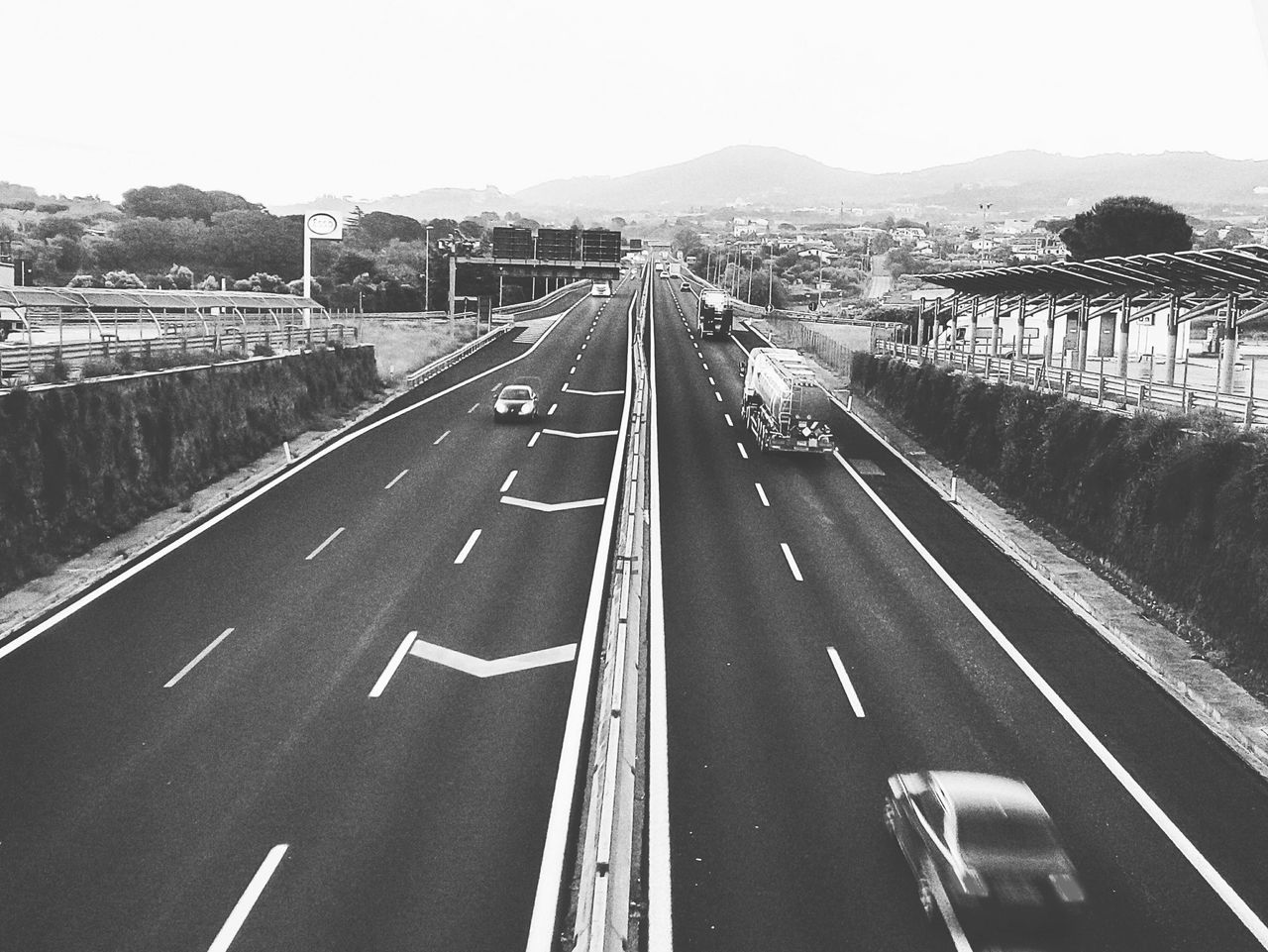 ON THE ROAD Transportation Outdoors Day Clear Sky Sky Photographer Picoftheday Followme Tagsforlikes Photoftheday Photographyislifee Tantebellecose EyeEmNewHere Photography Travel Destinations Landscape No People Blackandwhite Black & White Blackandwhite Photography Black And White Collection  Blackandwhitephoto Blackandwhitephotography Blackandwhitepics Photograph