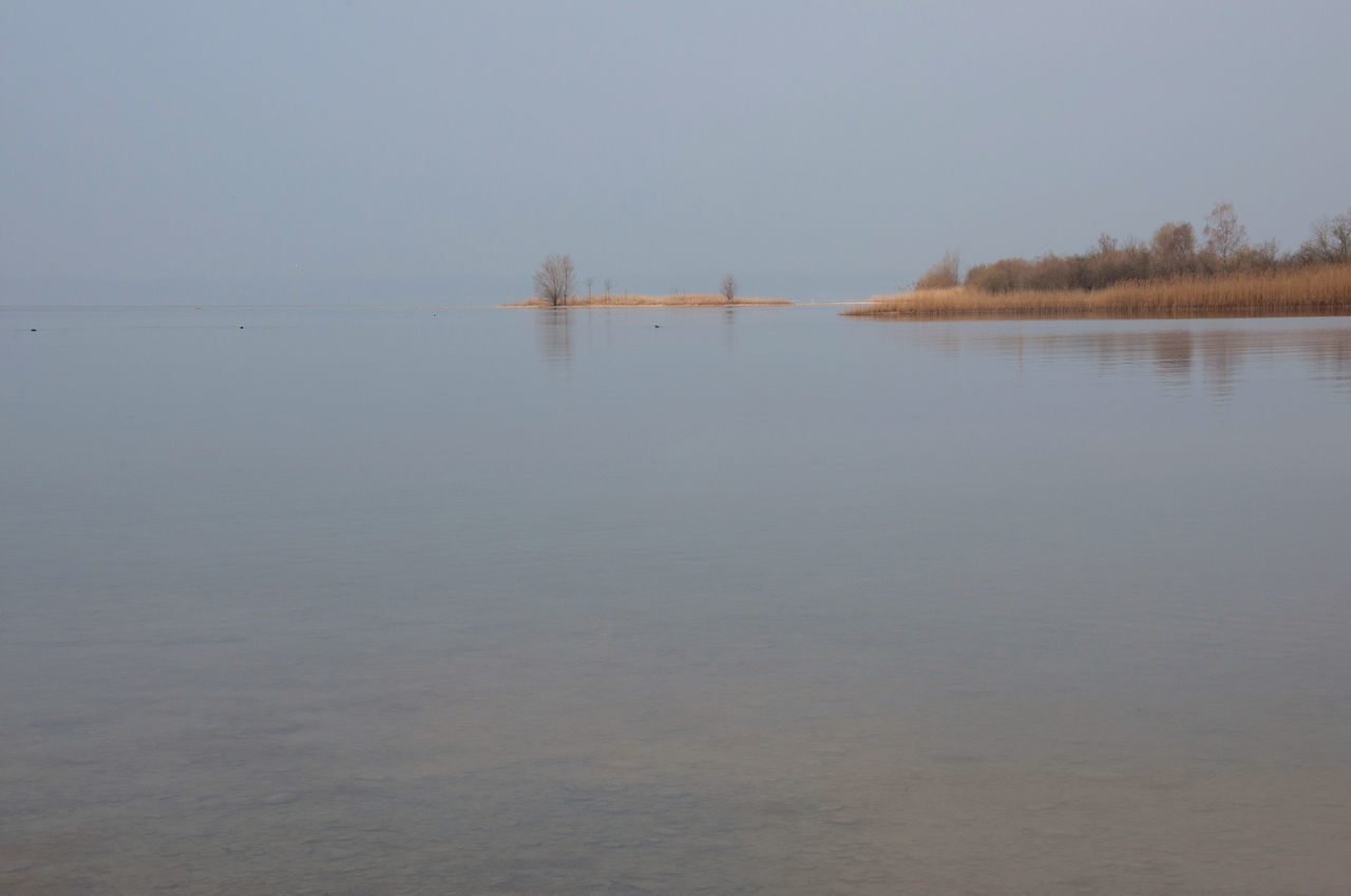 chiemsee halbinsel 2 Beauty In Nature Day Fog Lake Landscape Nature No People Outdoors Reflection Scenics Silence Of Nature Sky Tranquil Scene Tranquility Tree Water Wideness