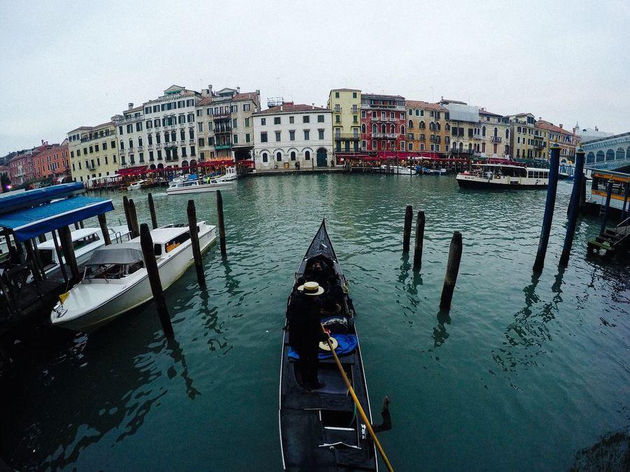 Venice Canals Gondola Gopro