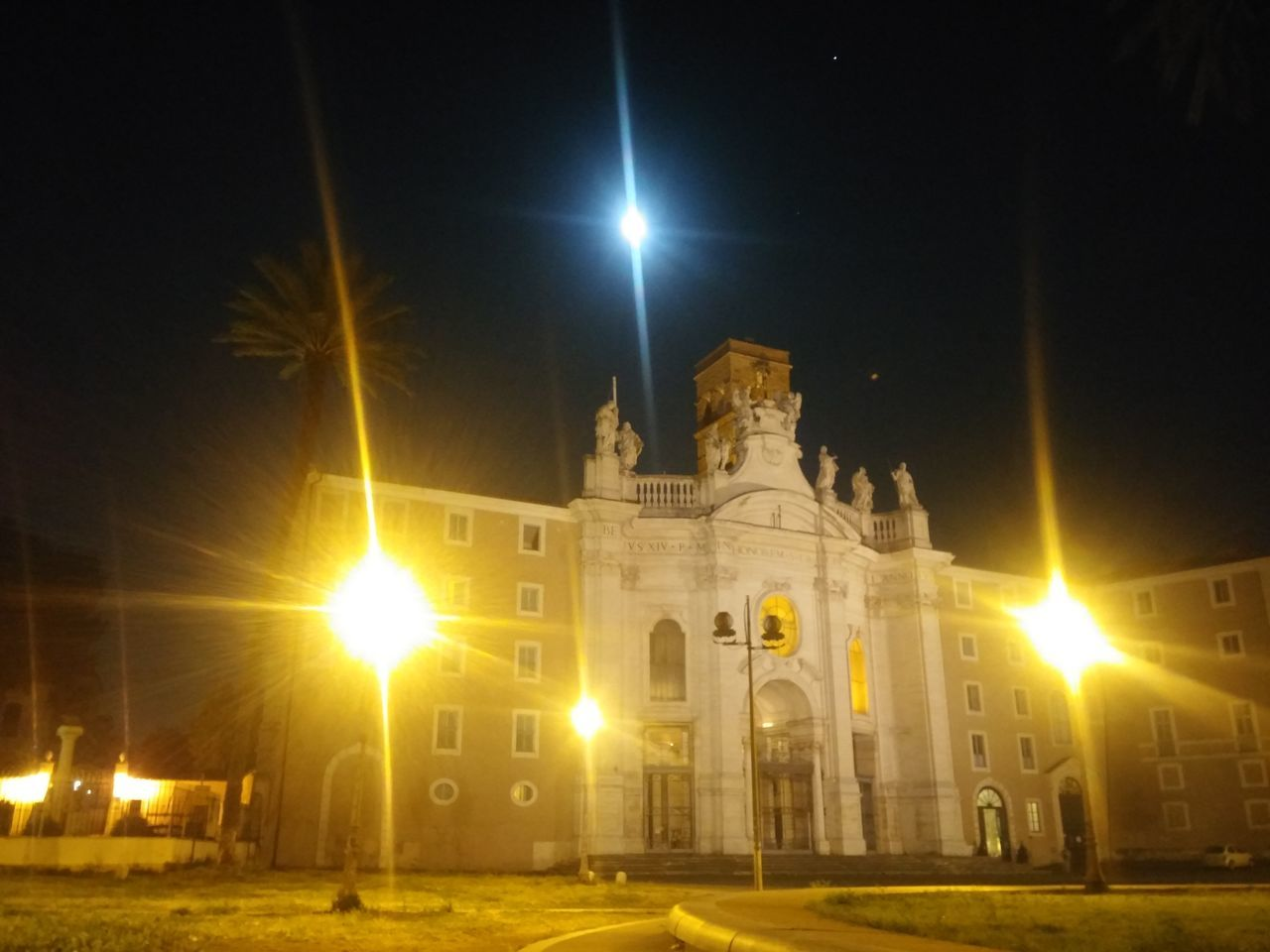 Rome Italy🇮🇹 Rome By Night Basilica Di S. Croce In Gerusalemme Night Illuminated Architecture History City Nightlife Outdoors No People Nightlights Night Shot Nightphotography Outdoor Photography Myownphotography Nofilter