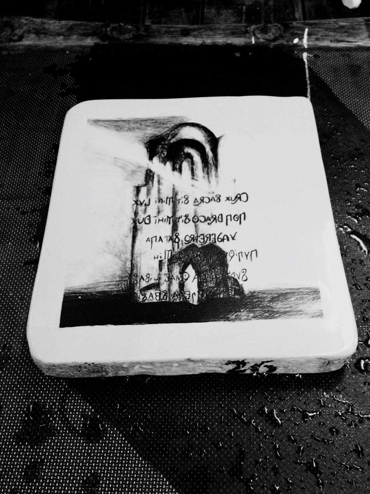 Moja pierwsza w życiu litografia Rysunek na kamieniu I'm proud Litography Graphic Photoart My Art