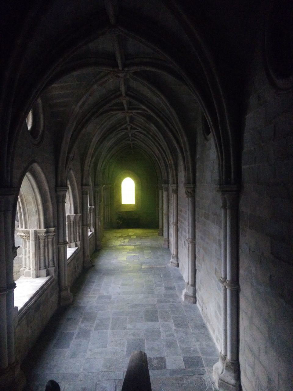 arch, the way forward, indoors, architecture, corridor, history, built structure, no people, day