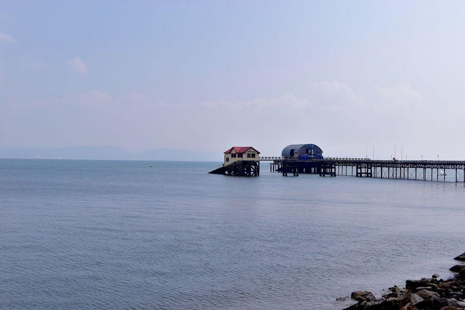 Taking Photos Sea Pier Slipway. Nikon D5500