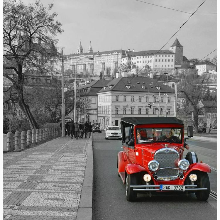 Prague. Streetphotography Oldcarphoto Europe_gallery Streetphoto_bw Nikon Collector's Car Cityscape Prague Photography Streetphoto_color Streetlife Street Photo Bnw_collection Travelphotography Transport