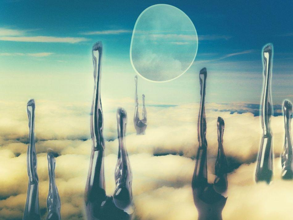 Surrealism Surreal Surrealist Art Surrealism And Fantasy Art Surreal Art Clouds And Sky Cloud Cloudscape Photography Realphoto Photographer Photoedit Sky And Clouds Legs Legs_only LegsintheAir EyeEm Best Edits EyeEm Best Shots EyeEmBestEdits Psexpress Creativity EyeEmBestPics Moon Abstract Heaven And Earth