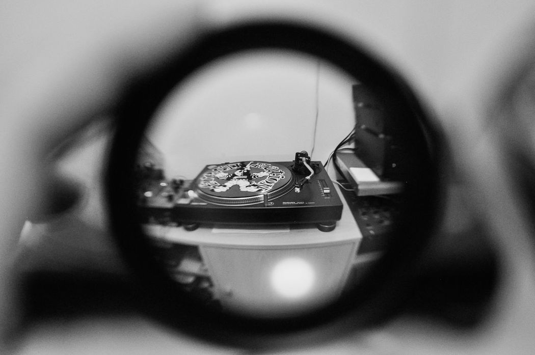 DJ mixer Black And White Close-up Different Perspective Dj Dj At Work DJ Decks Dj Life Dj Mix Dj Mixer Dj Set Human Hand Lifestyles Technics Vinyl Vinyl Records Wide Angle