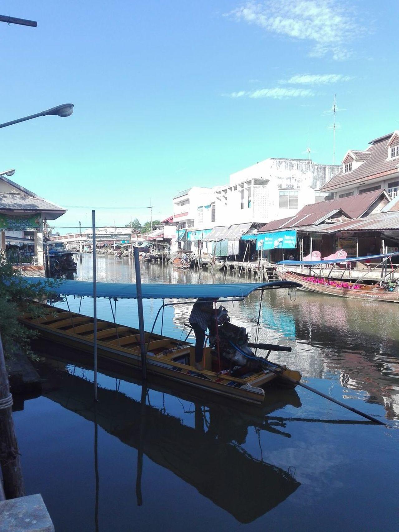 Boats River Makhong River Eyeemphoto EyeEm EyeEm Gallery