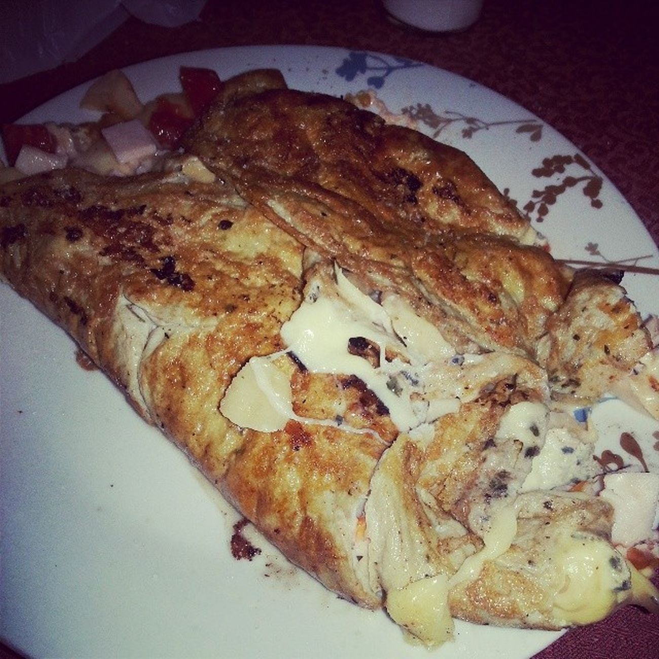 Omelett Cocinado por LaVozDeChile jejejej Se lo comera Mi Hermano Kenny