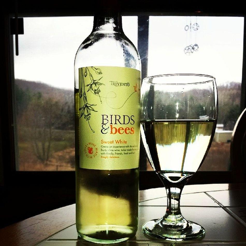 Delish, Mrs. O'Brien. Sweetwhite Whilecookingdinner Birdsandbees Wine delish whitewine