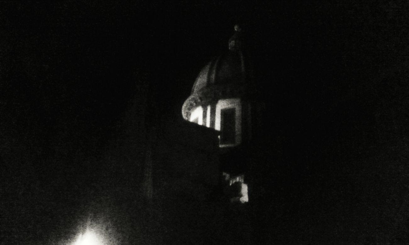 Black & White David De La Cruz Church Night