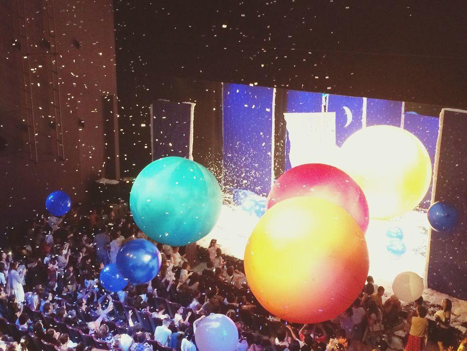 Slava Snowshow Snow Show Balloons