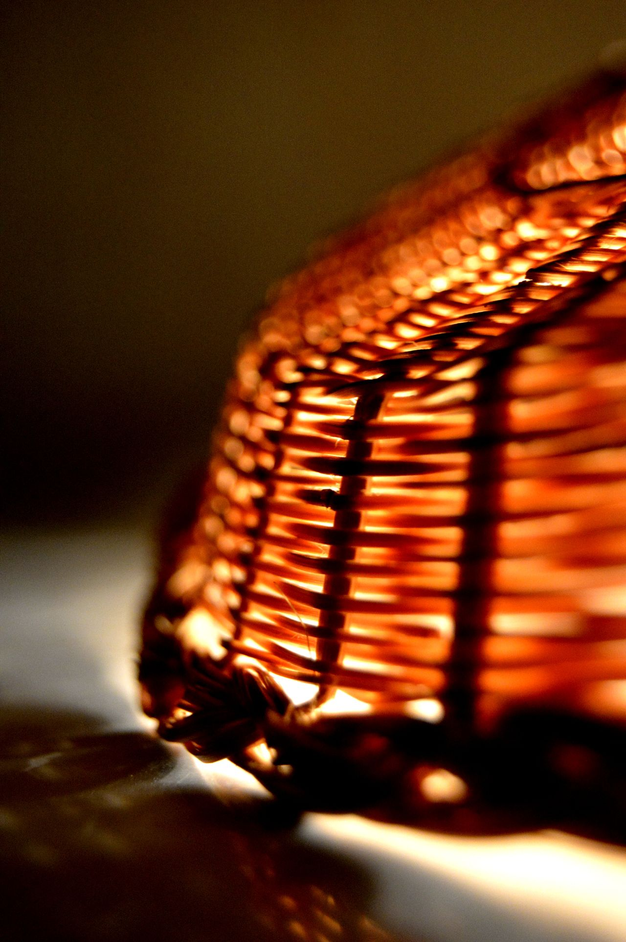 Bamboo weaving Bamboo Close-up Glow Of Light Illuminated Indoors  Light Source No People Serving Tray