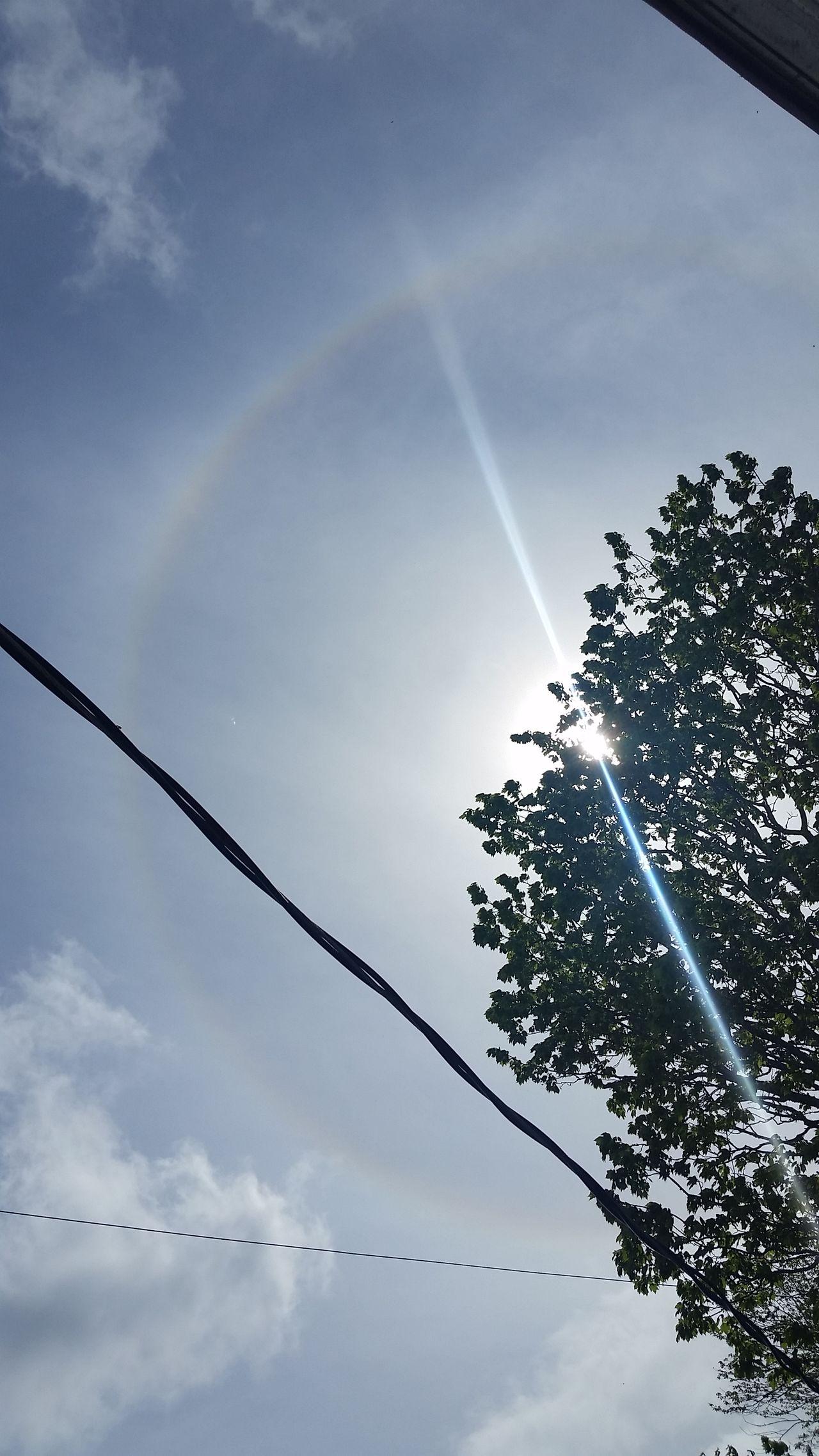 Lookup Sky Raimbowaroundthesun Angels Gifts Nature Weather