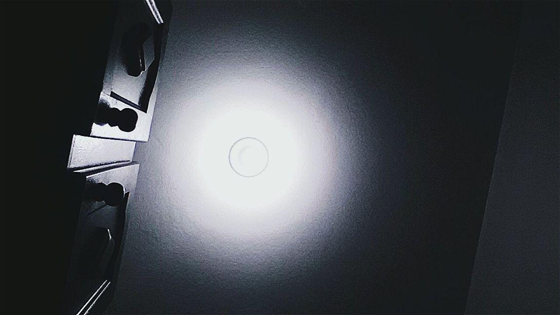 Apague as luzes e sinta.
