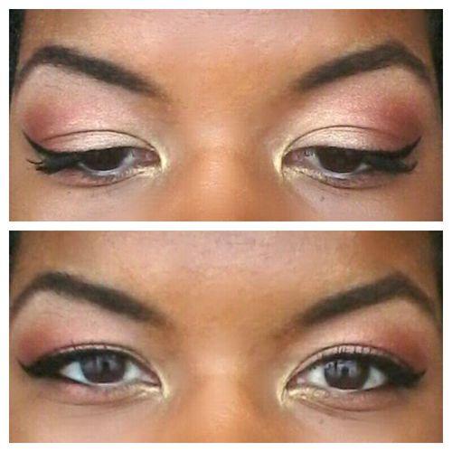 Eyemakeup Eyeshadow Makeup Hoodedeye Hoodedlids Wingedeyeliner Brown Eyes