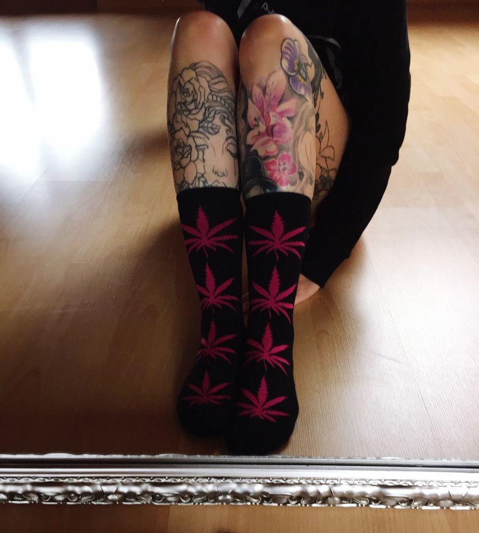 my new socks ^^ Ink Socks Mirror MeToday