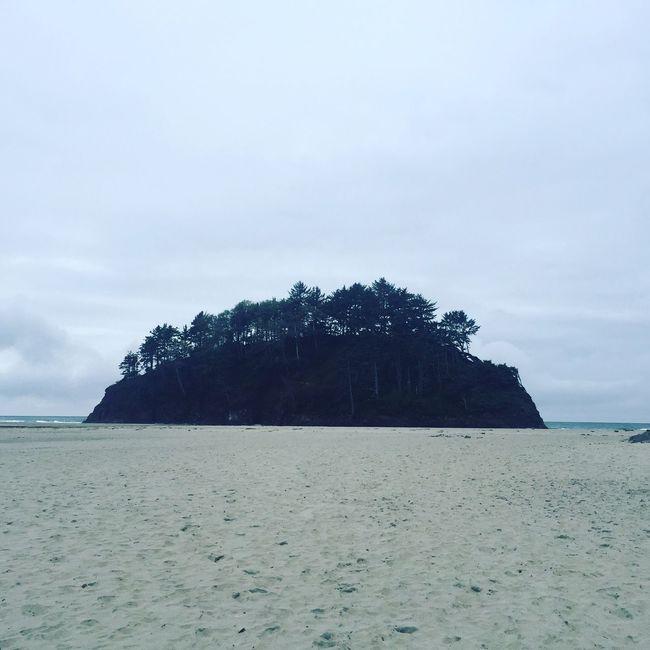 Oregon Coast Neskowin Beach PNW PNWonderland Oregon Gloomy Day