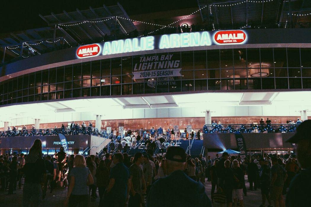 Tampa Bay Tampa Bay Lightning Hockey NHL Arena Crowd Sport Florida 2015