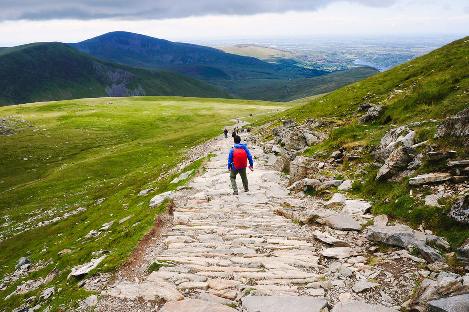 Beautiful stock photos of path, Backpack, Beauty In Nature, Day, Dramatic Landscape